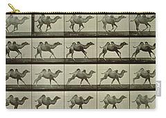Camel Carry-all Pouch by Eadweard Muybridge
