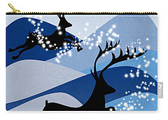 Christmas Card 2 Carry-all Pouch by Mark Ashkenazi