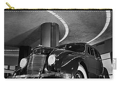 Chrysler Building Showroom Carry-all Pouch by Underwood Archives