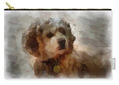 Cocker Spaniel Photo Art 01 Carry-all Pouch by Thomas Woolworth