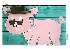 Cool Pig Collection Carry-all Pouch by Marvin Blaine