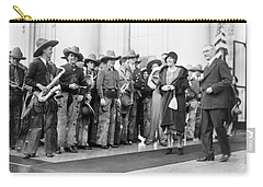 Cowboy Band, 1929 Carry-all Pouch by Granger