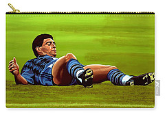 Diego Maradona Carry-all Pouch by Paul Meijering