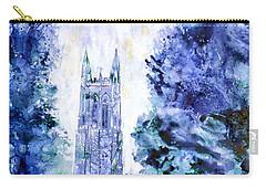 Duke Chapel Carry-all Pouch by Ryan Fox