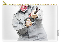 Female Psycho Killer Carry-all Pouch by Jorgo Photography - Wall Art Gallery