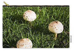Field Of Mushrooms Carry-all Pouch by Jorgo Photography - Wall Art Gallery