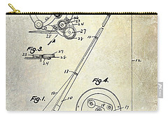 Fishing Reel Patent 1939 Carry-all Pouch by Jon Neidert
