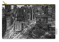 Flatiron District Birds Eye View Carry-all Pouch by Susan Candelario