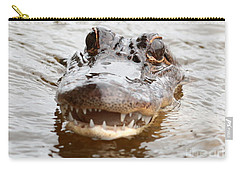 Gator Eyes Carry-all Pouch by Carol Groenen