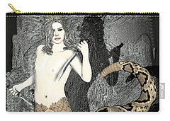Gorgon Medusa  Carry-all Pouch by Quim Abella