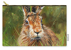 hARE Carry-all Pouch by David Stribbling