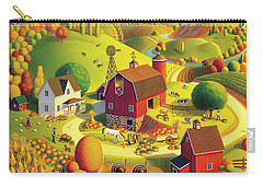 Harvest Bounty Carry-all Pouch by Robin Moline