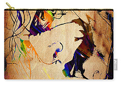 Heath Ledger The Joker Collection Carry-all Pouch by Marvin Blaine