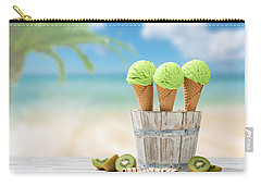 Ice Creams  Carry-all Pouch by Amanda Elwell