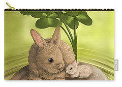 Island Of Happiness Carry-all Pouch by Veronica Minozzi