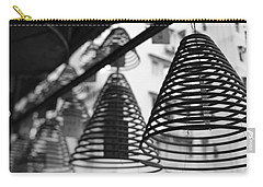 Large Incense Coils Hanging In Pak Sing Carry-all Pouch by Panoramic Images