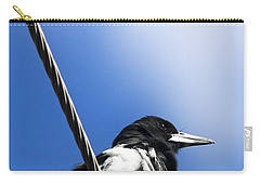 Magpie Up High Carry-all Pouch by Jorgo Photography - Wall Art Gallery
