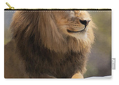 Majestic Lion Carry-all Pouch by Sharon Foster