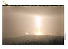 Carry-all Pouch featuring the photograph Minuteman IIi Missile Test by Science Source