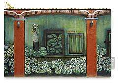 Mural On A Wall, Cancun, Yucatan, Mexico Carry-all Pouch by Panoramic Images