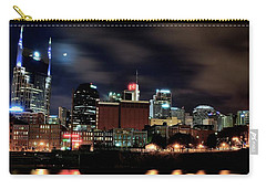 Nashville Panoramic View Carry-all Pouch by Frozen in Time Fine Art Photography