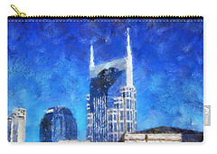 Nashville Skyline Carry-all Pouch by Dan Sproul