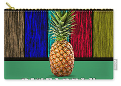 Pineapple Carry-all Pouch by Marvin Blaine
