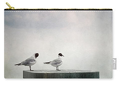 Seagulls Carry-all Pouch by Priska Wettstein