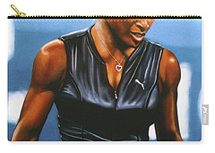 Serena Williams Carry-all Pouch by Paul Meijering
