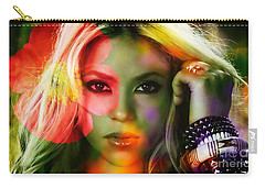 Shakira Carry-all Pouch by Marvin Blaine