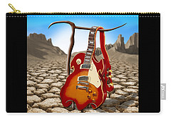 Soft Guitar II Carry-all Pouch by Mike McGlothlen