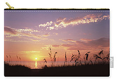 Sunset Over The Sea, Venice Beach Carry-all Pouch by Panoramic Images