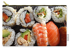 Sushi Carry-all Pouch by Les Cunliffe