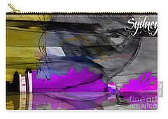 Sydney Australia Skyline Watercolor Carry-all Pouch by Marvin Blaine