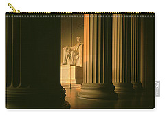 The Lincoln Memorial In The Morning Carry-all Pouch by Panoramic Images