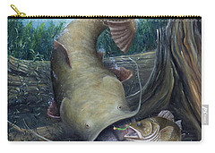 Top Dog Carry-all Pouch by Catfish Lawrence