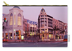 Traffic On The Road, Rodeo Drive Carry-all Pouch by Panoramic Images