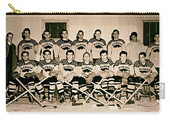 University Of Michigan Hockey Team 1947 Carry-all Pouch by Mountain Dreams
