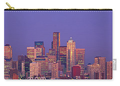 Usa, Washington, Seattle, Cityscape Carry-all Pouch by Panoramic Images
