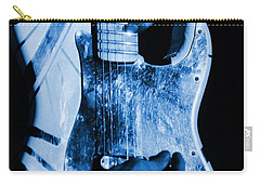 Vh #1 In Blue  Carry-all Pouch by Ben Upham