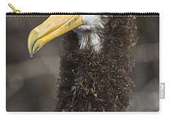 Waved Albatross Molting Juvenile Carry-all Pouch by Pete Oxford