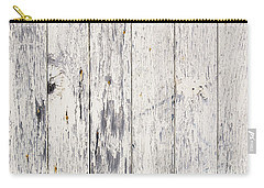 Weathered Paint On Wood Carry-all Pouch by Tim Hester