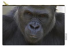 Western Lowland Gorilla Portrait Carry-all Pouch by San Diego Zoo