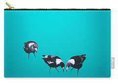 What About Me Carry-all Pouch by Jan Matson