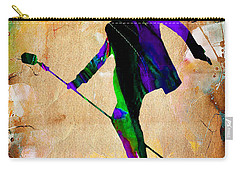 Elvis Presley Collection Carry-all Pouch by Marvin Blaine