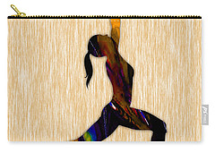 Fitness Yoga Carry-all Pouch by Marvin Blaine