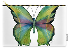 11 Prism Butterfly Carry-all Pouch by Amy Kirkpatrick
