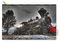 Carry-all Pouch featuring the photograph 1880 Train by Bill Gabbert