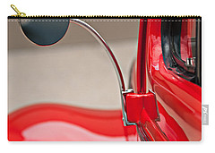 1940 Ford Deluxe Coupe Rear View Mirror Carry-all Pouch by Jill Reger