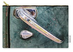 1950 Classic Chevy Pickup Door Handle Carry-all Pouch by Adam Romanowicz